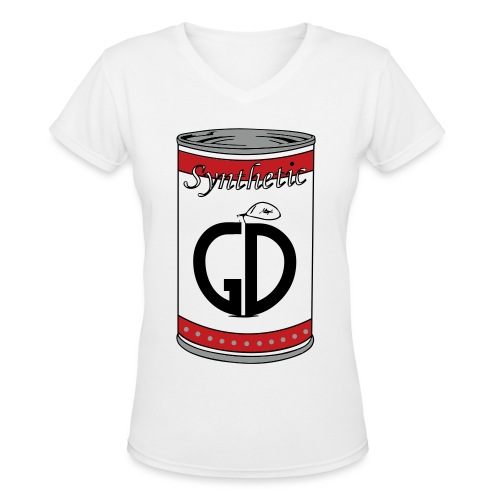Synthetic GD - Women's V-Neck T-Shirt