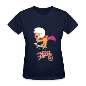 Scoot Racer Fillies' Tee - Women's T-Shirt