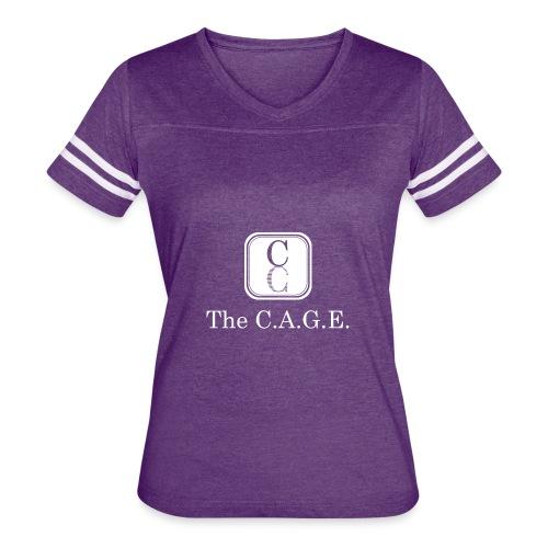THE C.A.G.E  CCA WEEk - Women's Vintage Sport T-Shirt