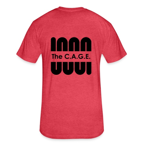 THE C.A.G.E SUMMER WEAR - Fitted Cotton/Poly T-Shirt by Next Level