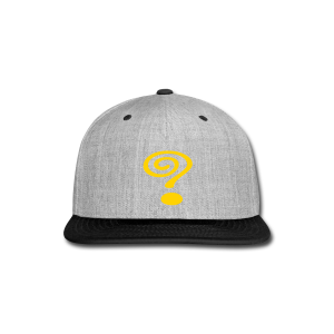Question Mark - Snap-back Baseball Cap