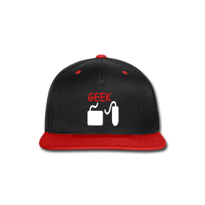 Geek - Snap-back Baseball Cap