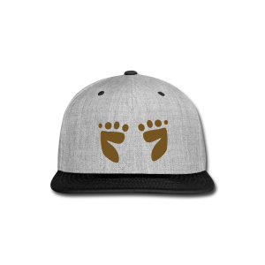 Footprints - Snap-back Baseball Cap