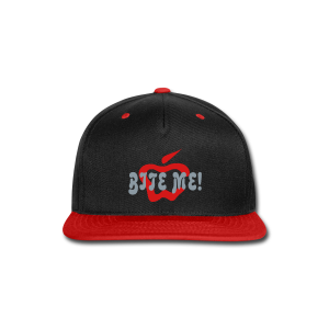 Bite Me - Snap-back Baseball Cap