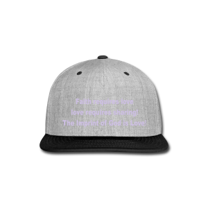 The Imprint of God Love! - Snap-back Baseball Cap