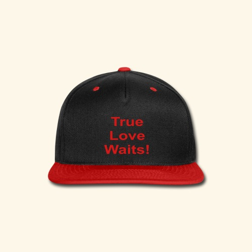 True Love Waits - Snap-back Baseball Cap