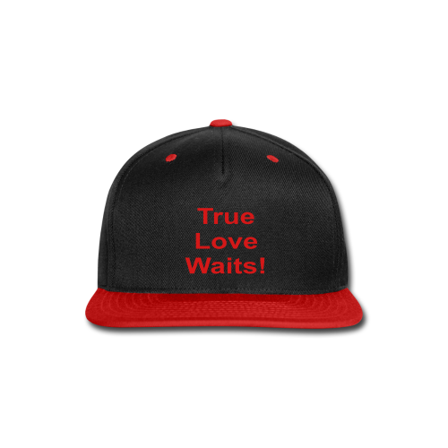 True Love Waits - Snap-back Baseball Cap