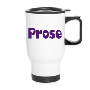 Purple Prose -- Travel Mug - Travel Mug