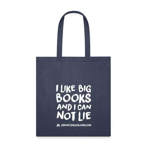 I Like Big Books - Tote Bag - Tote Bag
