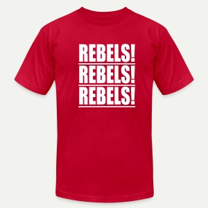 Rebels Chant - Men's T-Shirt by American Apparel