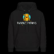 Hoodies ~ Men's Hoodie ~ Ownage Pranks Orange Logo Hoodie