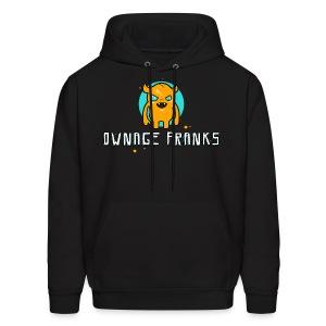 Ownage Pranks Orange Logo Hoodie - Men's Hoodie