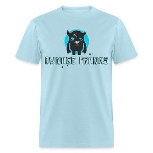 Ownage Pranks Gray Logo Shirt - Men's T-Shirt