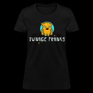T-Shirts ~ Women's T-Shirt ~ Ownage Pranks Orange Logo Shirt