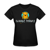 Women's T-Shirts ~ Women's T-Shirt ~ Ownage Pranks Orange Logo Shirt