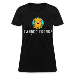 Ownage Pranks Orange Logo Shirt - Women's T-Shirt