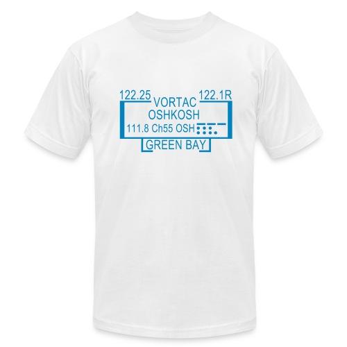 OSH-VOR-White - Men's Fine Jersey T-Shirt