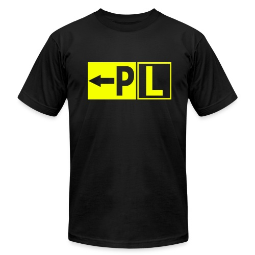 Taxiway Sign - Men's Fine Jersey T-Shirt