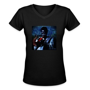 Kind of Blue Miles Davis T - Women's V-Neck T-Shirt