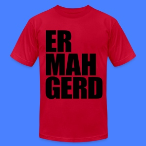 Ermahgerd T-Shirts - Men's T-Shirt by American Apparel