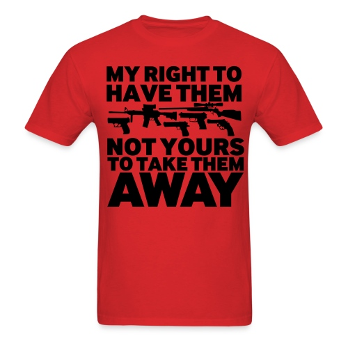 My Rights - Men's T-Shirt
