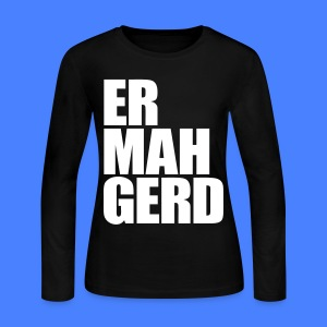 Ermahgerd Long Sleeve Shirts - Women's Long Sleeve Jersey T-Shirt