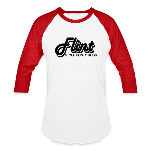 Flint Style Coney Dogs - Baseball T-Shirt