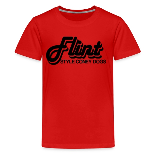 Flint Style Coney Dogs - Kids' Premium T-Shirt