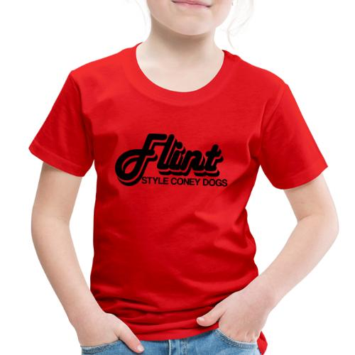 Flint Style Coney Dogs - Toddler Premium T-Shirt