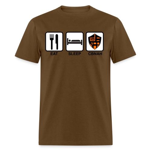 Eat. Sleep. CBNAH. - Men's T-Shirt