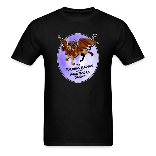 Manticore Rider - Men's T-Shirt