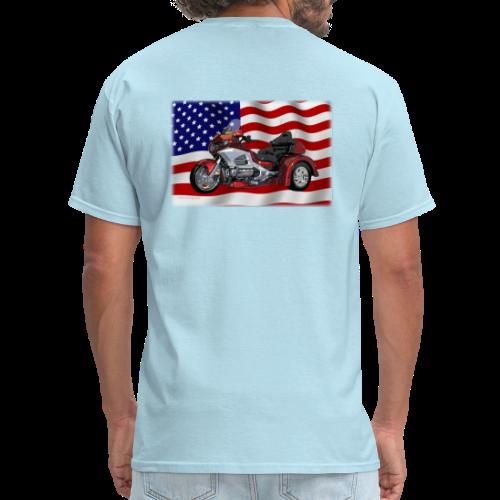 Men's T Back FlagWTrike - Men's T-Shirt