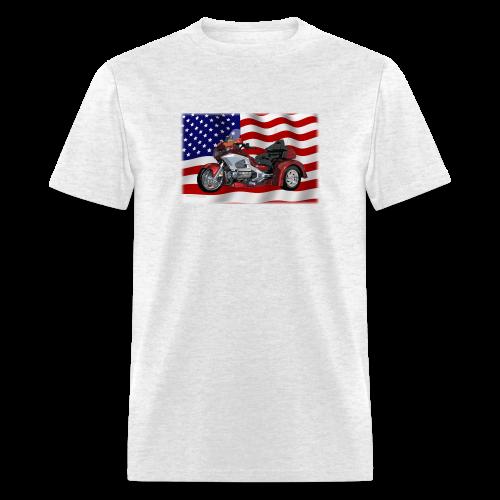 Men's T Front FlagWTrike - Men's T-Shirt
