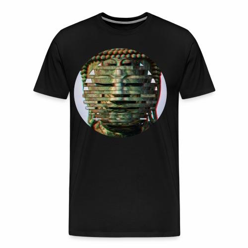 Multi Buddha Circle Original - Men's Premium T-Shirt