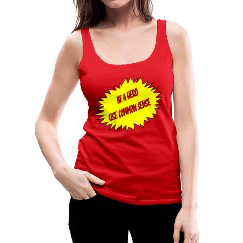 Women's Common Sense Logo Tank Top - Women's Premium Tank Top