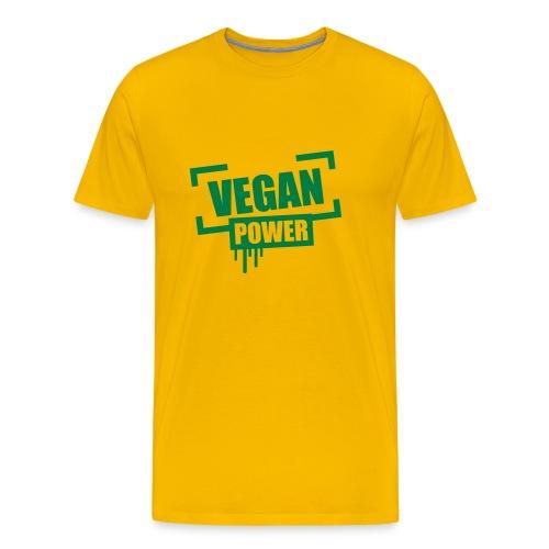 Vegan Power T-Shirt - Men's Premium T-Shirt