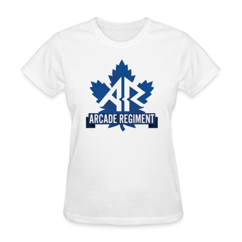 Arcade Regiment Logo Ladies tee. - Women's T-Shirt