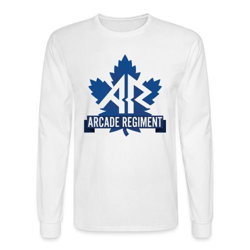 Arcade Regiment Logo Longsleeve - Men's Long Sleeve T-Shirt