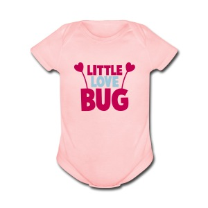 LITTLE LOVE BUG   - Short Sleeve Baby Bodysuit