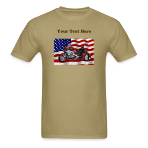 Men's T Front FlagWTrike Custom - Men's T-Shirt
