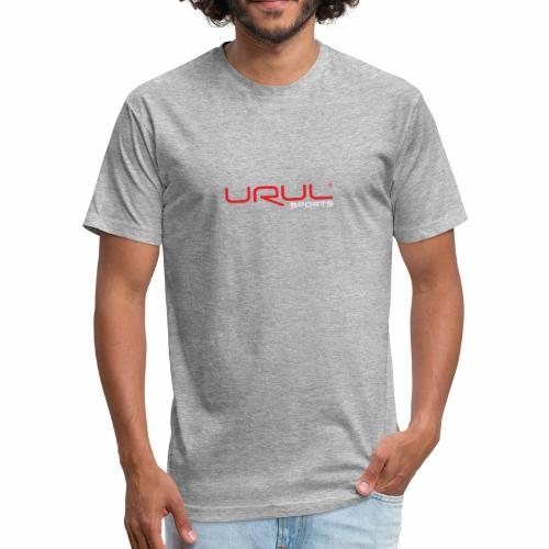Fashion Logo Tee - Fitted Cotton/Poly T-Shirt by Next Level
