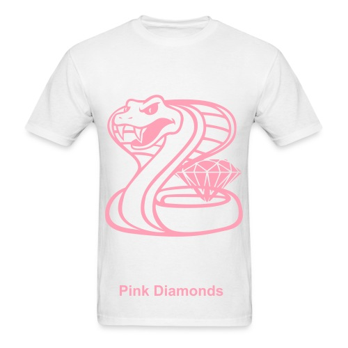 Pink Diamond Shirt - Men's T-Shirt