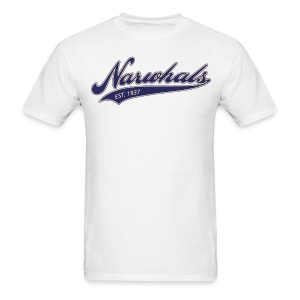 Narwhal Script - Men's T-Shirt
