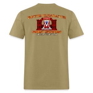 82nd En Batt - RC Sapper Back Only - Men's T-Shirt