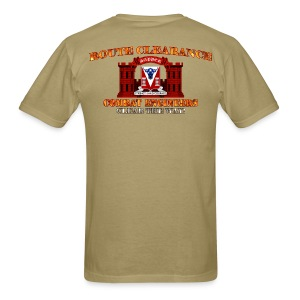 82nd En Batt - RC Sapper Back Only - Men's T-Shirt