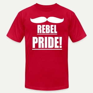 Rebel Pride - Men's T-Shirt by American Apparel