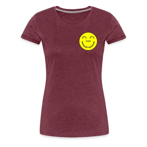 Marching Band Smiley - Women's Premium T-Shirt