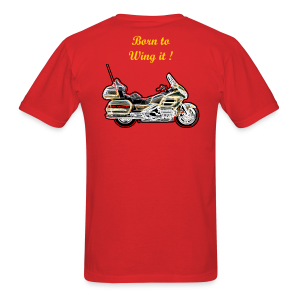 Men's T Back Wing it - Men's T-Shirt