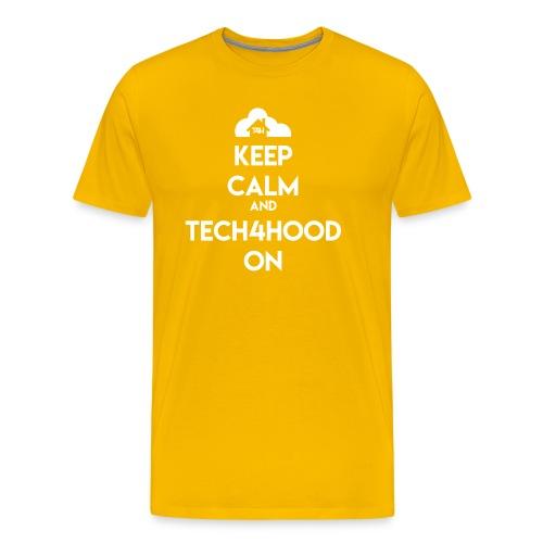 Keep Calm & Tech4hood On T-shirt - Men's Premium T-Shirt