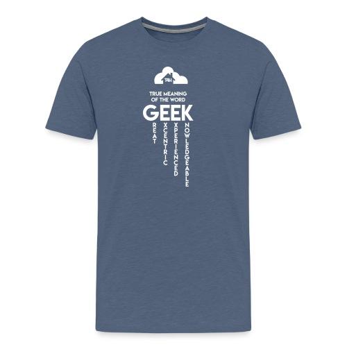 Tech4Hood Geeky Tshirt 2 - Men's Premium T-Shirt